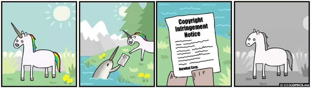 Copyright exists to guard your unique creations from being duplicated by others around. It gives a person, legal authority to own their creations.