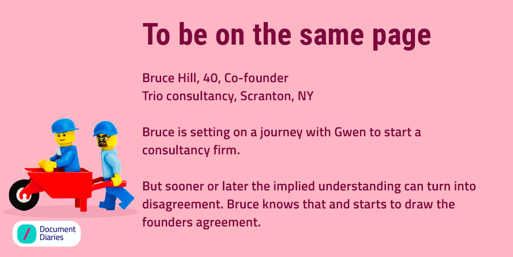 Drafting a founder's agreement document is a must for every business