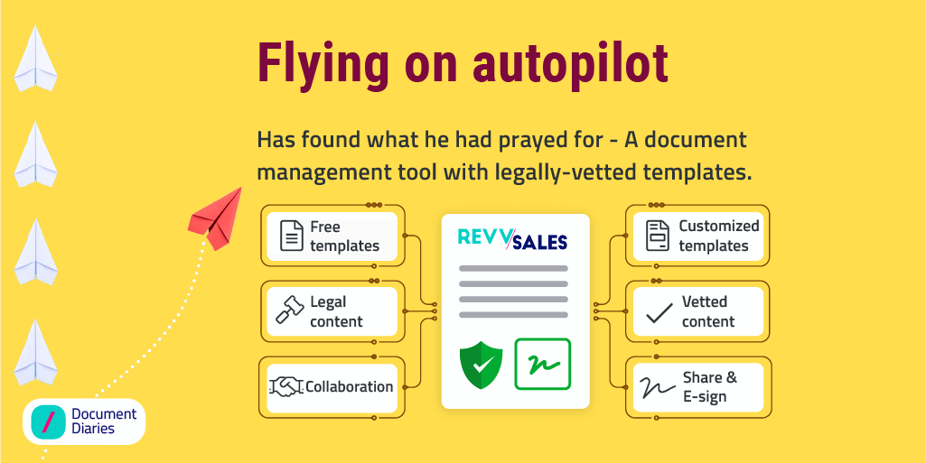 Checkout how RevvSales can help in legal documents for business