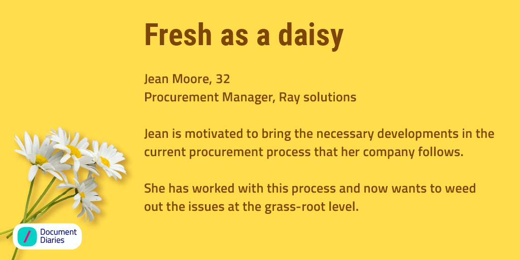 A process in place that will make managing documents in the procurement process easy breezy