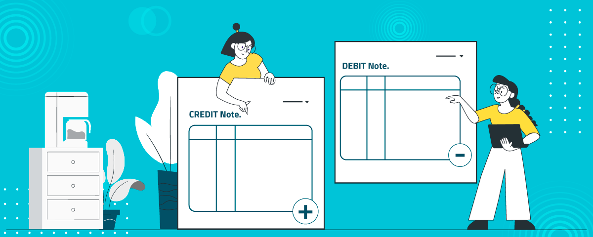 Get the Credit Note and Debit Note Template frem document management software