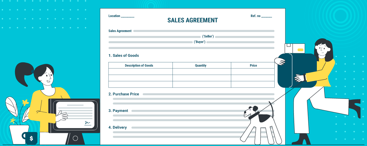 Know more about how to draft, download and e-sign sales agreement with RevvSales