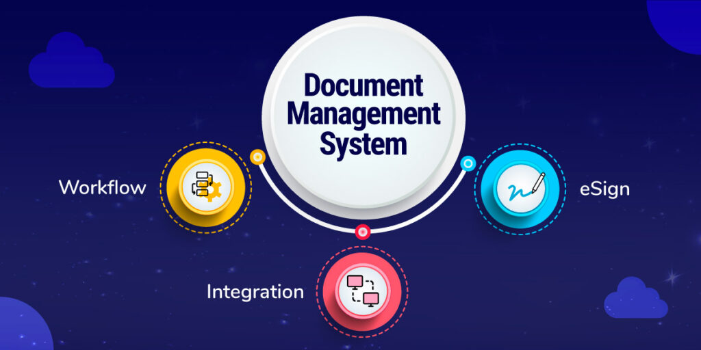 A document management system has three major benefits.