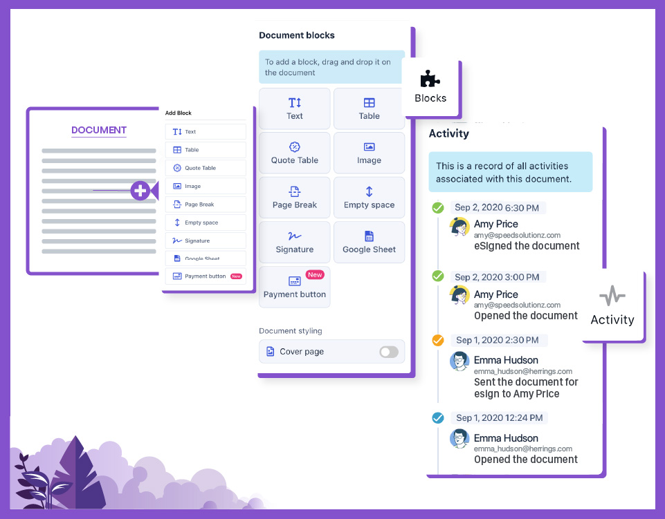 Create, review, track, store & eSign documents with Revv