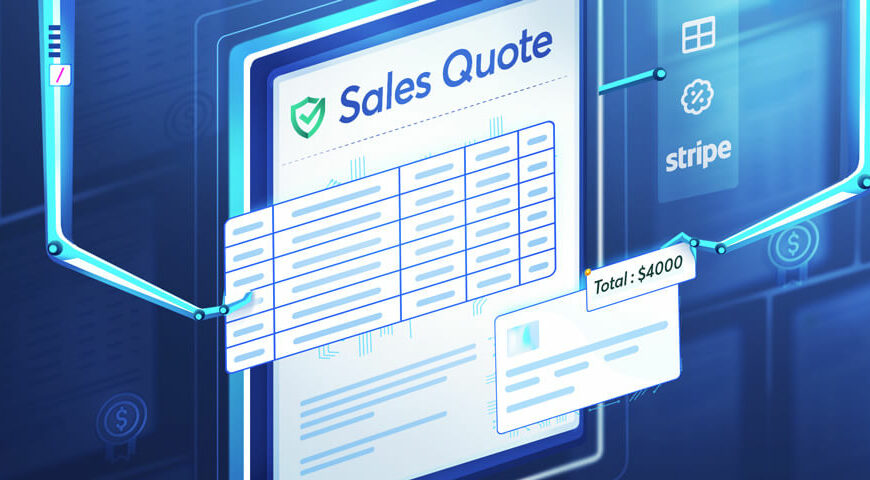 Automate and Create Winning Sales Quotes Using a Sales Quoting Software