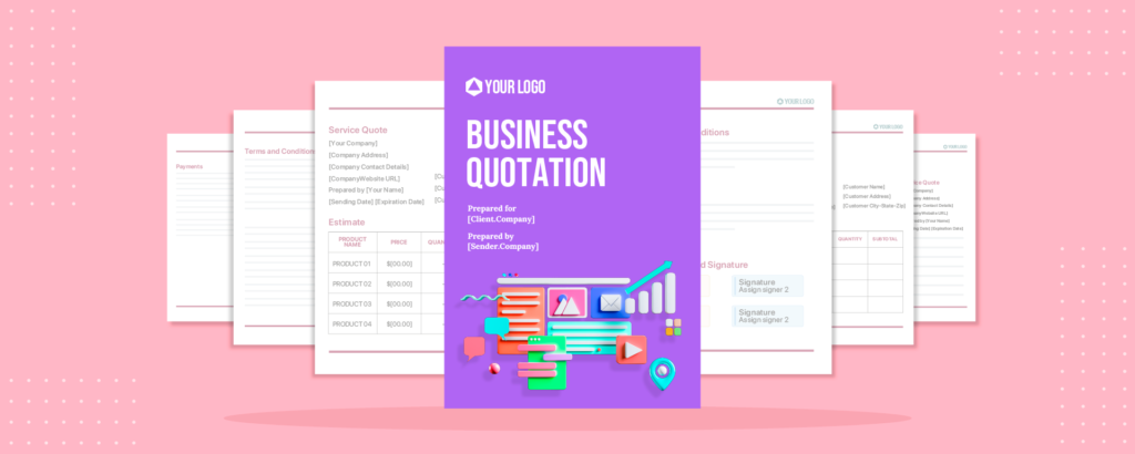 Create a business quotation that is well structured, accurate, and concise to attract the client towards your offerings.