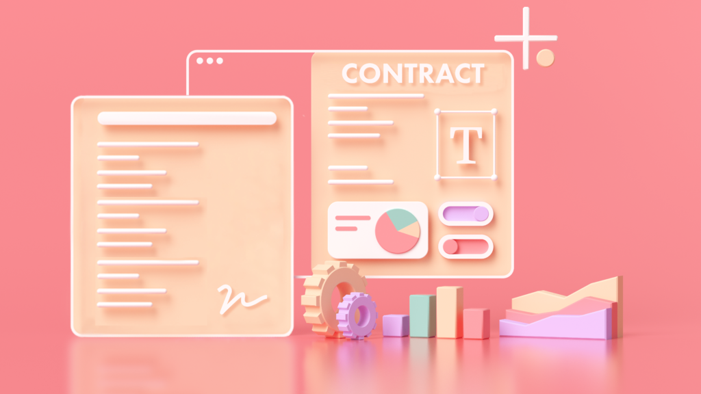 What is a contract and how does it help businesses.