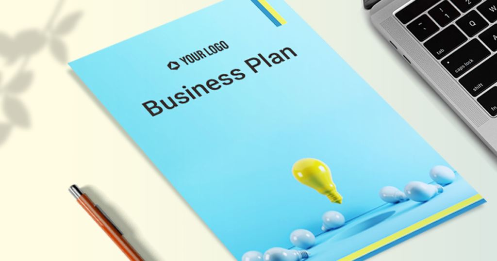 A business plan is drafted to seek investment from potential investors
