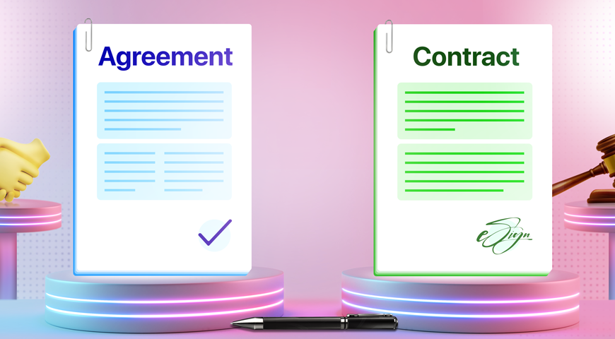 Agreements vs. Contracts: What's the Difference?