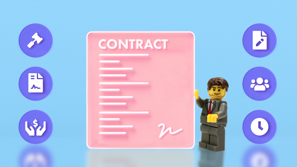 These are seven important components of a business contract