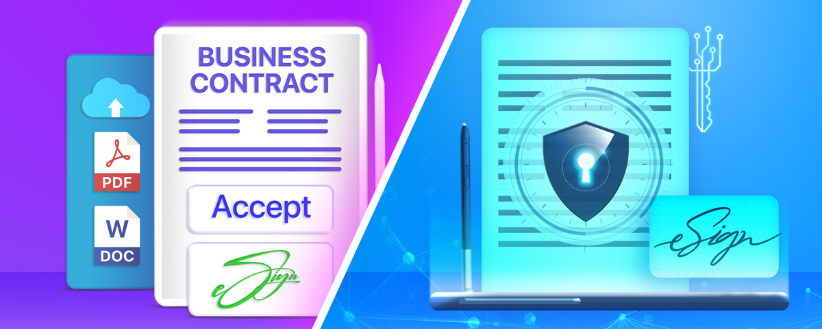 What are the differences between a digital signature and a wet signature?