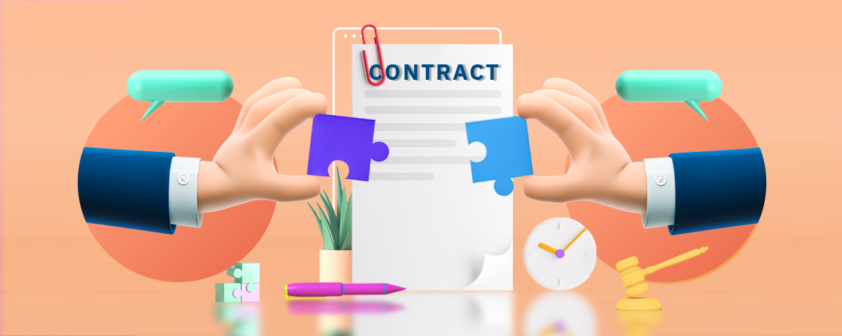 Draft a memerandum of contracts before the final contract is drawn to avoid faulty contracts.