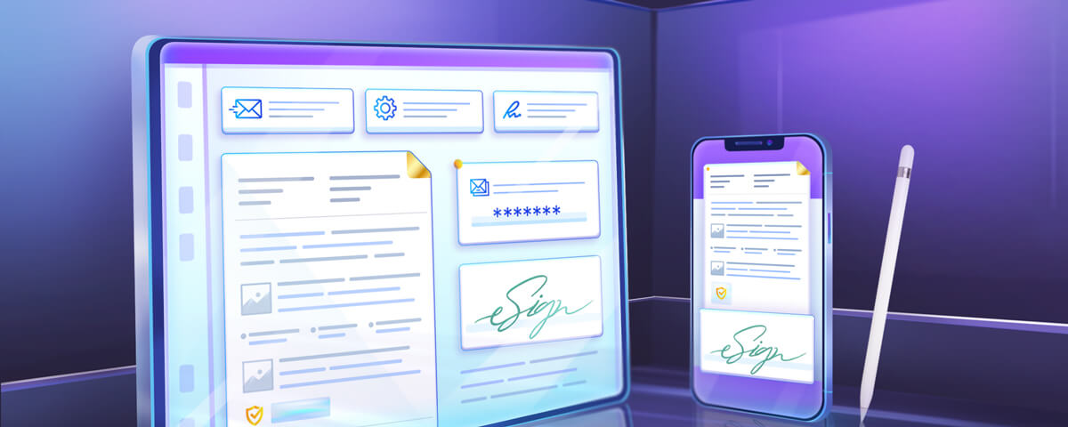 Read the blog to know how to sign documents using your iPhone or iPad easily.