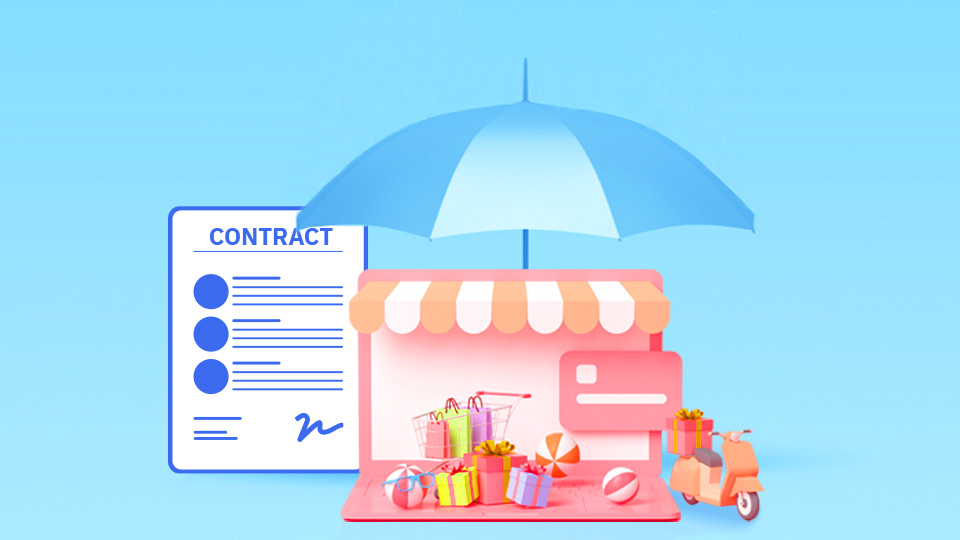 How does a written contract protect your business?