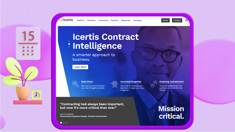 Icertis contract managment