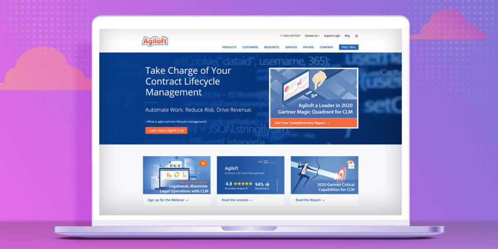 Agiloft contract management