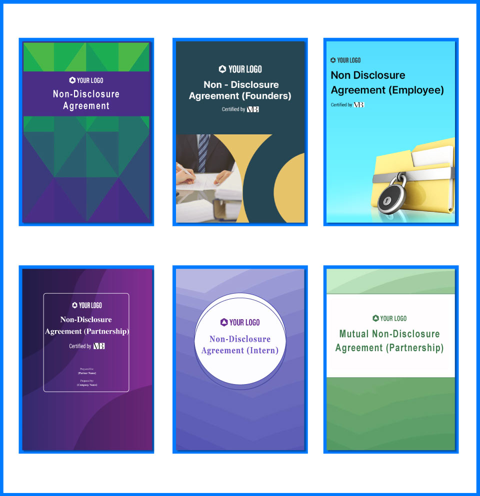 Download free non-disclosure templates (NDA) pdf!