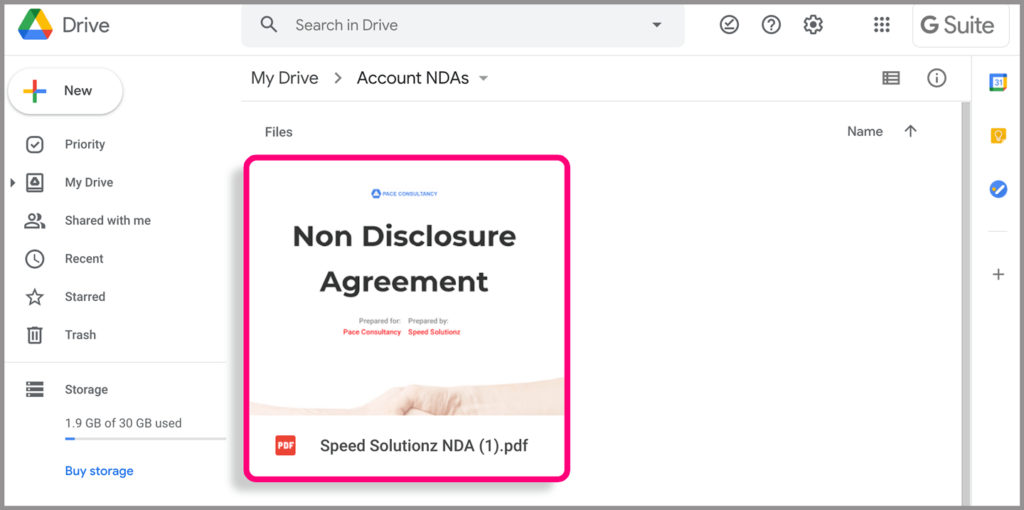 Learn how to automate non-disclosure agreements with a document management system.