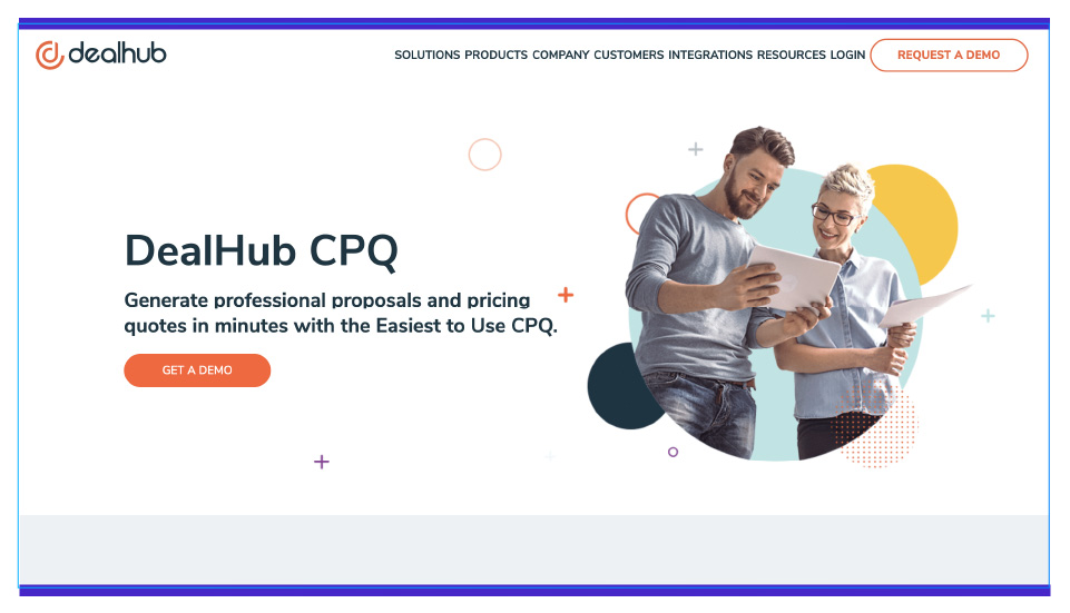 Dealhub helps to create and send sales documents faster.