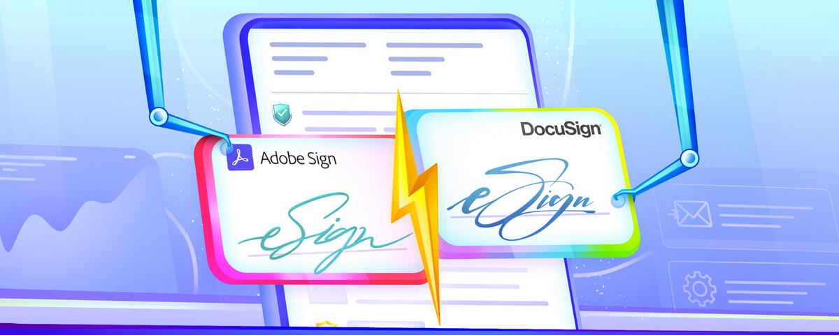 Adobe Sign vs. DocuSign comparison blog - Find the best e-signature solution for your business needs.