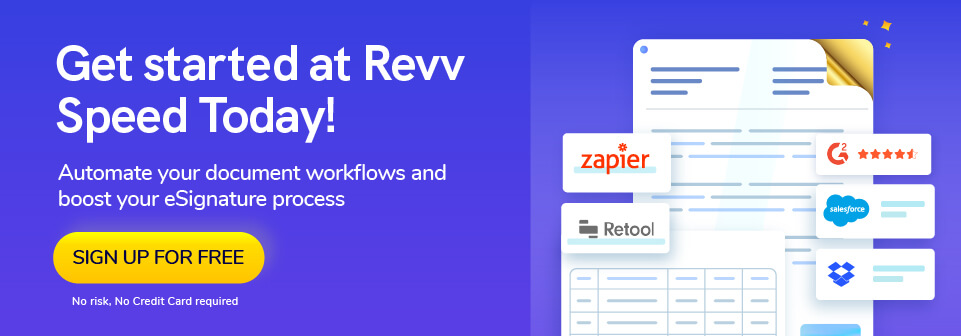 Revv - the best document workflow automation system for real estate, financial services, healthcare, and many more.