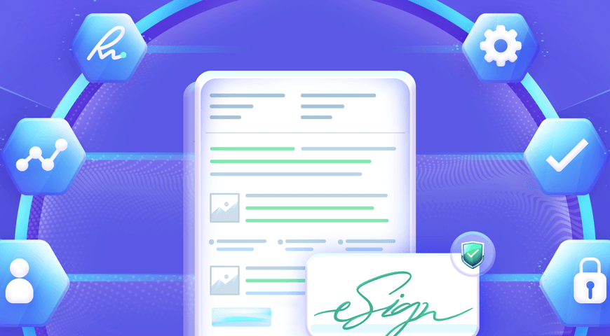 Secure Document Workflow with Electronic Signatures