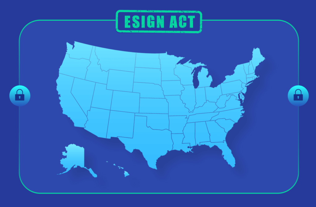 ESIGN Act is a federal law in the United States that makes electronic signatures legally binding.