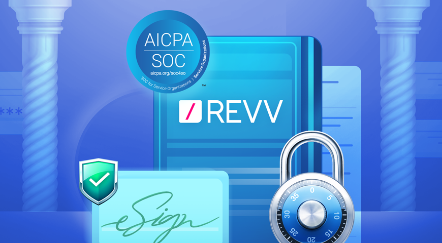 Your Data is Securely Managed With Revv: We are SOC 2 Compliant