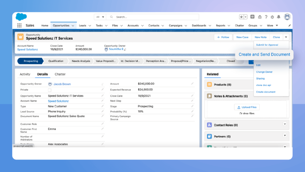 Learn how Revv's Configure, Price, Quote (CPQ) software automates the quotation process with salesforce integration.